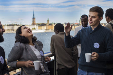 SI scholarship holders within the Visby Programme at the Kick-off event 2019 in Stockholm.