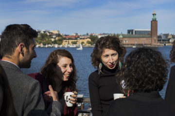 SI scholarship holders at the kick-off event 2019 in Stockholm.