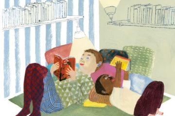 Illustration Siri Ahmed Backström, Ed. Cambourakis, 2017