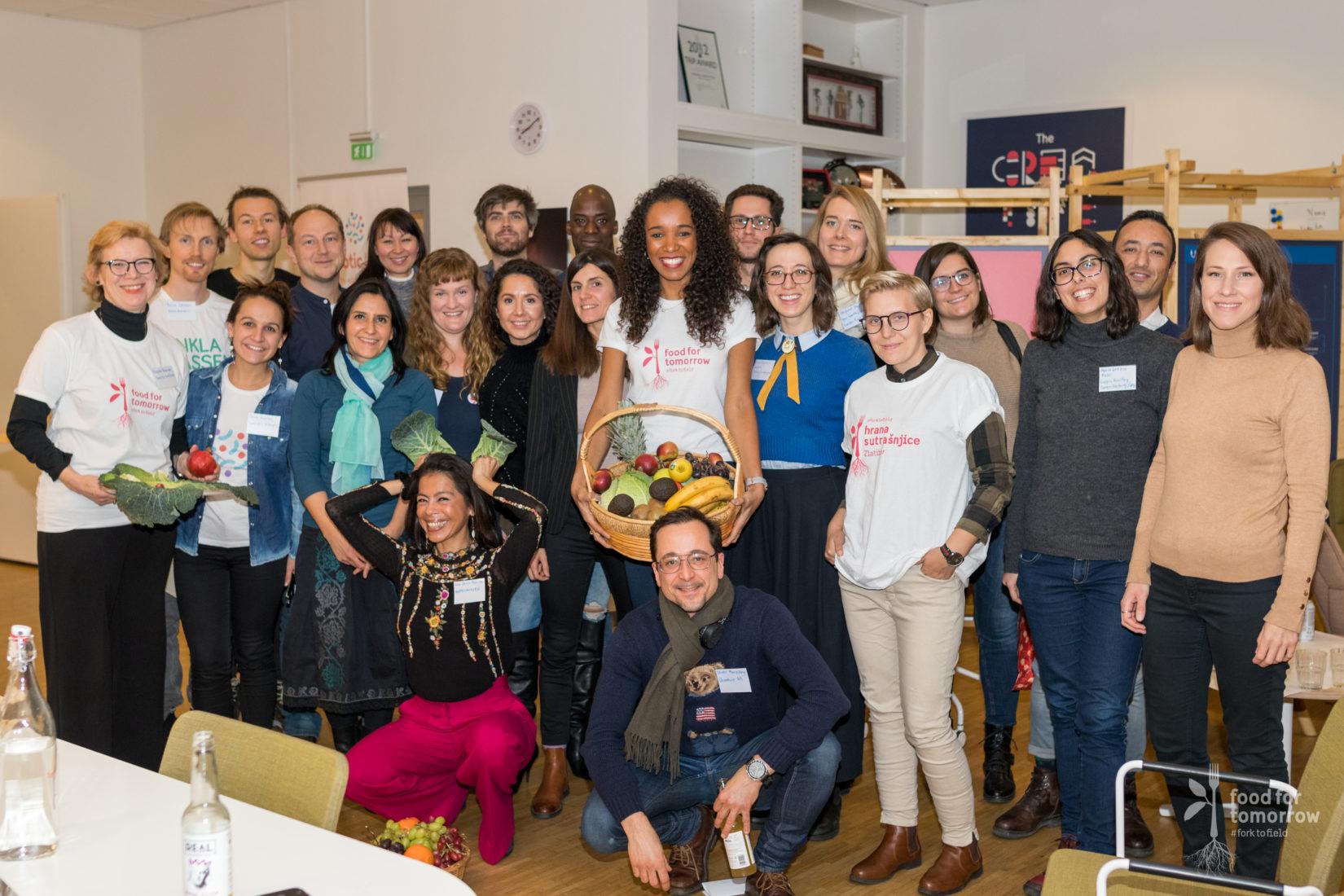 Bild på deltagare på workshopen Happy Food Workshop