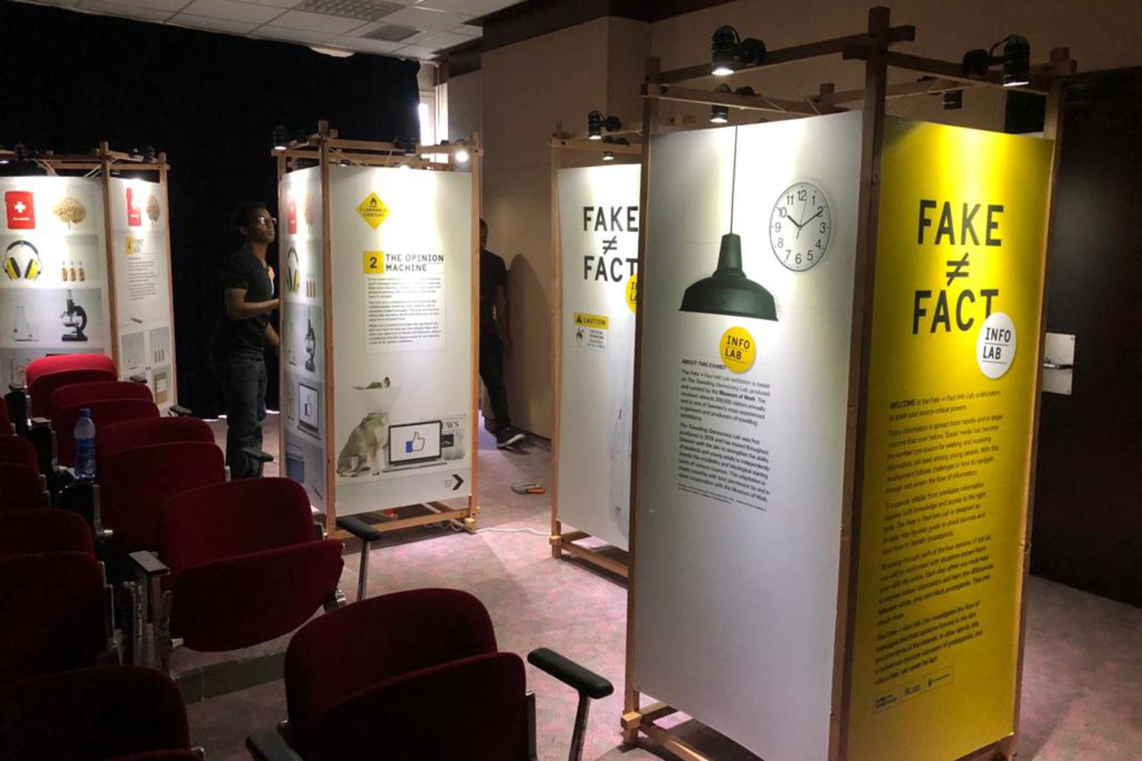 Launching the Fake ≠ Fact Info Lab in Addis Ababa - Svenska institutet