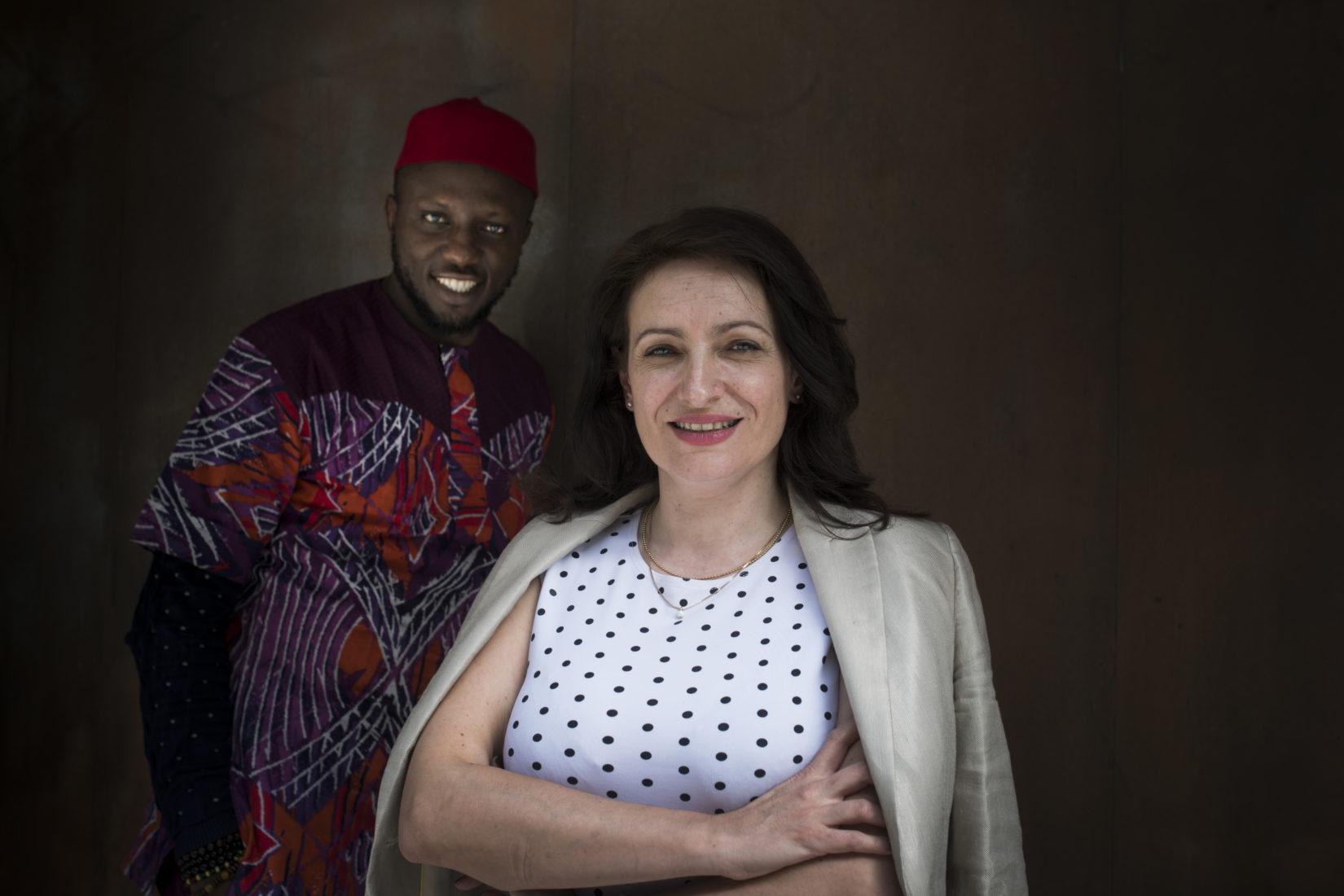 Aleksandra Nakeva Ruzin, Nordmakedonien, och Chukwuemeka Fred Agbata, Nigeria, är två av de experter som besöker Sverige för att lära sig mer om det svenska innovationsekosystemet.