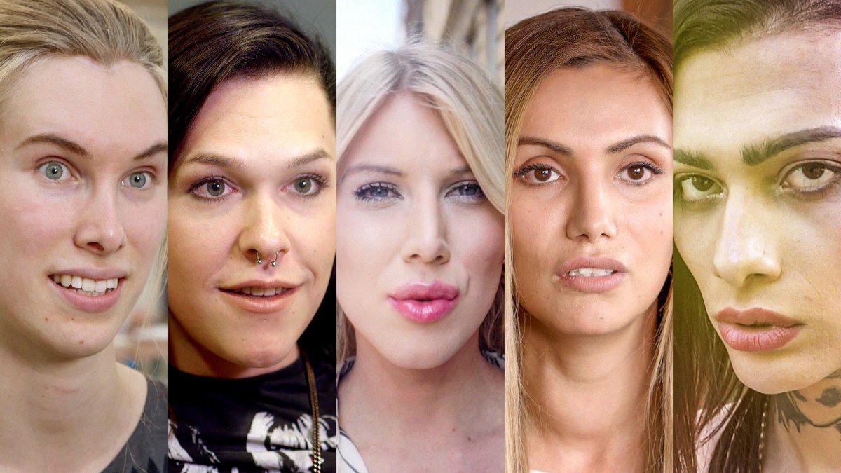 Bild på fem kvinnor