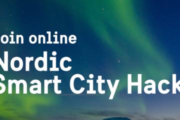 Text: Nordic Smart City Hack