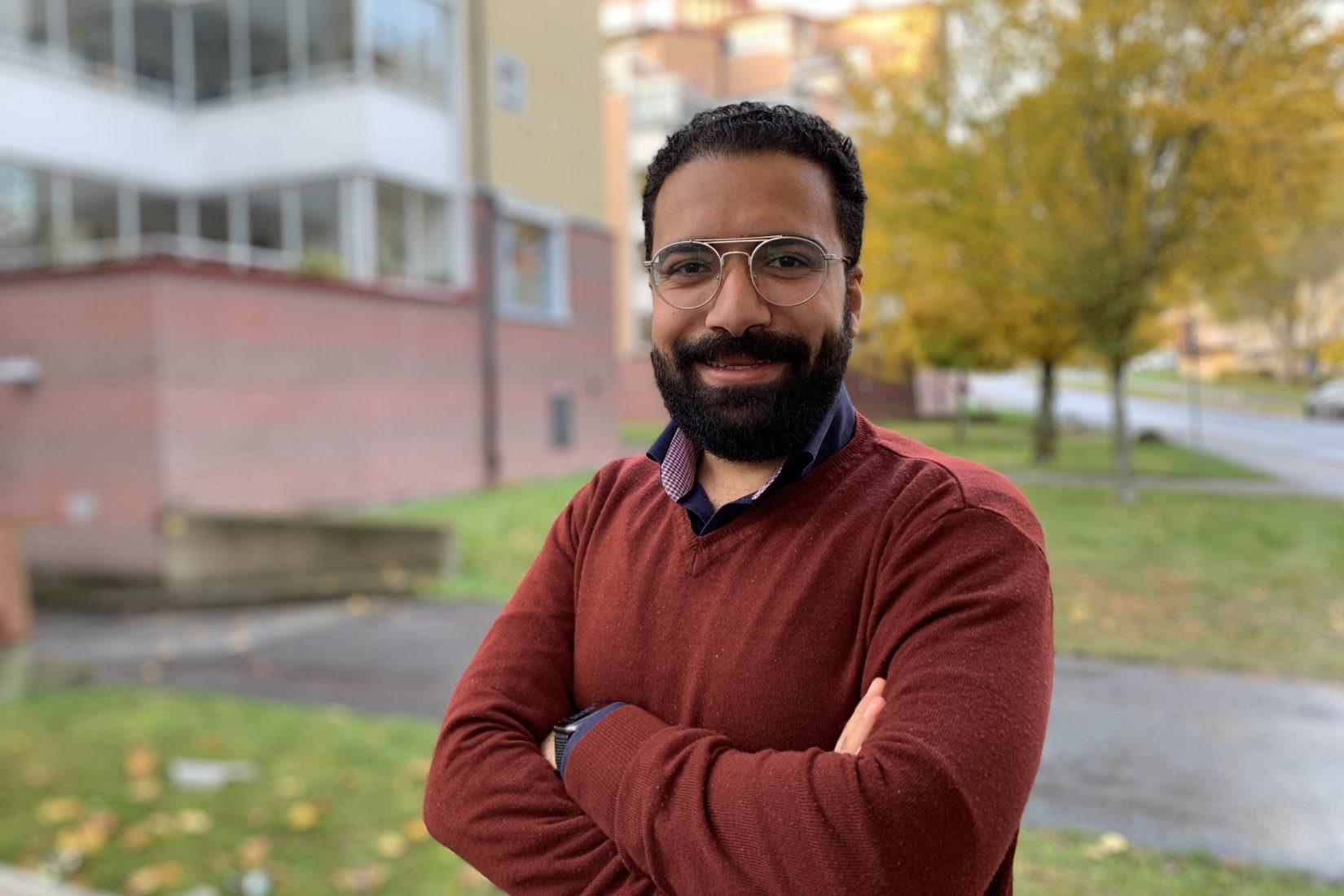Swedish Institute scholarship holder Gerges Mousa