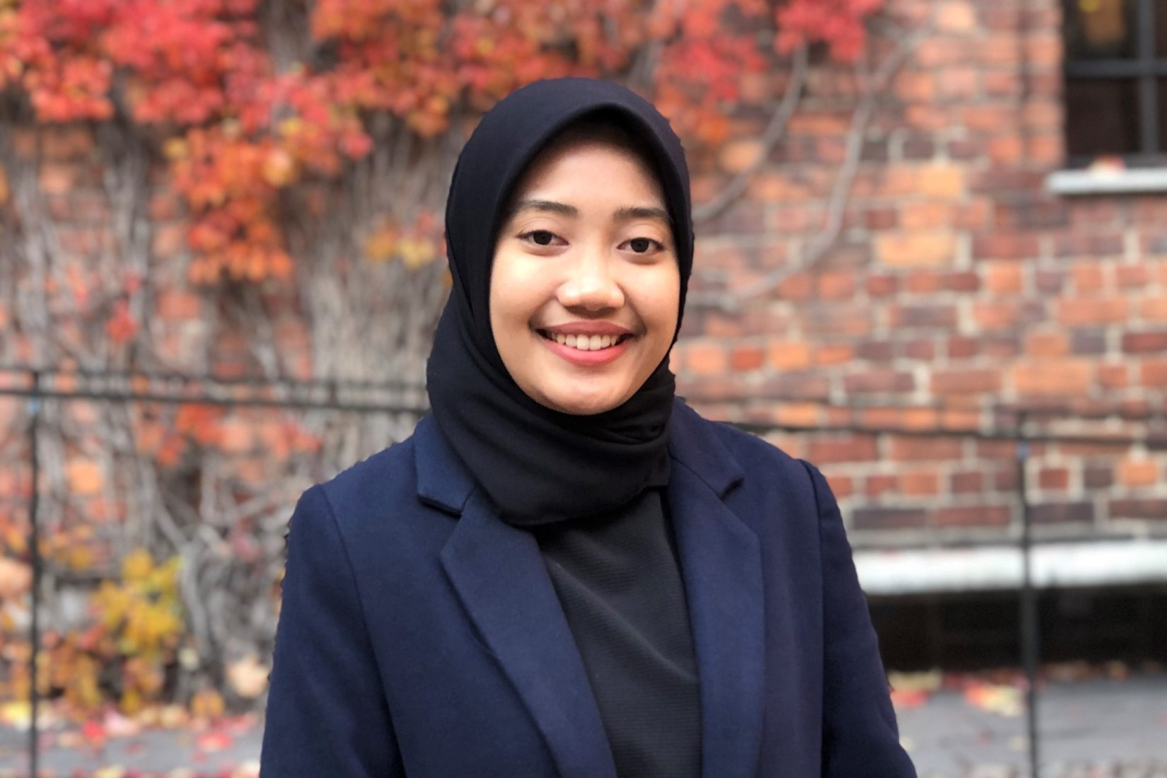 Swedish Institute scholarship holder Novita Supardi