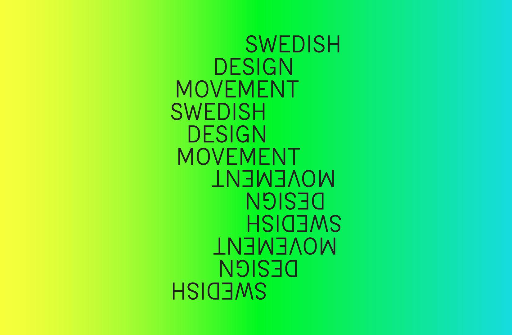Logo Swedish Design Movement